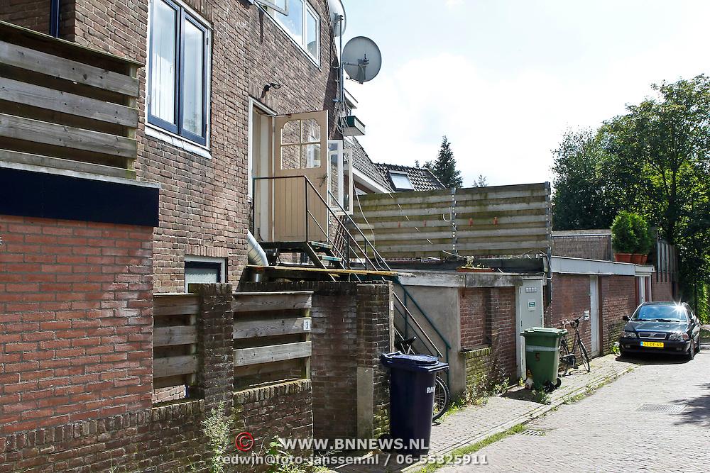 NLD/Soest/20100728 - Voormalige woning van Mocienne Petit Jackson, die beweert een dochter te zijn van Michael Jackson en Barbara Ross