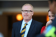 Scotland Manager Alex McLeish during the Friendly international match between Scotland and Portugal at Hampden Park, Glasgow, United Kingdom on 14 October 2018.
