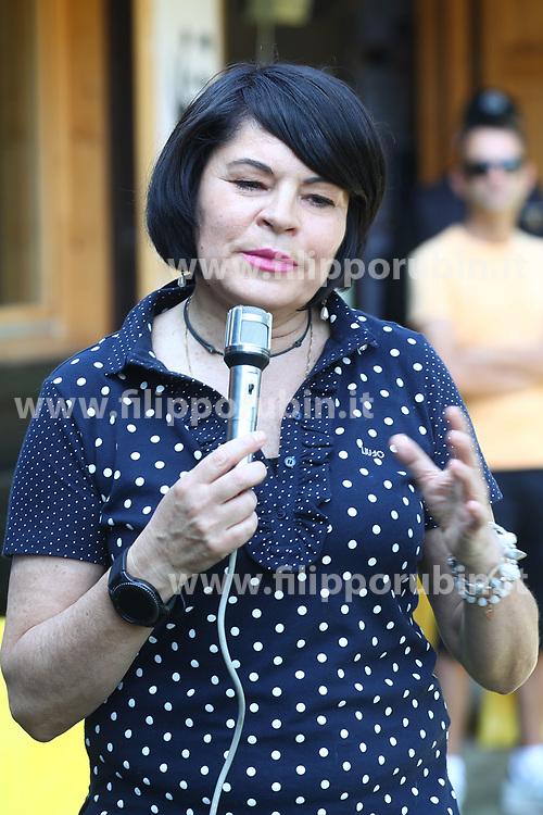 SABINA ALICE ZANARDI SINDACO DI CODIGORO<br /> VISITA BAMBINI GARZAIA CODIGORO