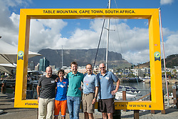 Kevin Vermaak and the 4 Lions, only riders to have completed every Cape Epic at the pre race events held at the V&A Waterfront in Cape Town prior to the start of the 2017 Absa Cape Epic Mountain Bike stage race held in the Western Cape, South Africa between the 19th March and the 26th March 2017<br /> <br /> Photo by Mark Sampson/Cape Epic/SPORTZPICS<br /> <br /> PLEASE ENSURE THE APPROPRIATE CREDIT IS GIVEN TO THE PHOTOGRAPHER AND SPORTZPICS ALONG WITH THE ABSA CAPE EPIC<br /> <br /> ace2016