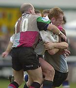 Photo - Peter Spurrier<br /> 08/02/2003 <br /> RUGBY - NEC Harlequins v Sale Sharks<br /> Pete Anglesea