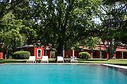 Swimming pool, Estancia La Bamba De Areco, Pampas, Argentina, South America