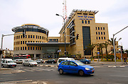 Israel, Tel aviv, The Tel Aviv district police head quarters