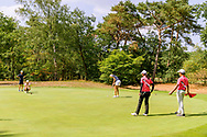 21-07-2018 Pictures of the final day of the Zwitserleven Dutch Junior Open at the Toxandria Golf Club in The Netherlands.  17th green with flight of SOHIER, Anouk (NL)
