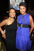 NEW YORK, NEW YORK-JUNE 4: (L-R) Carol Sutton Lewis, Esq. (Honoree) and Desiree Rogers attend the 2019 Gordon Parks Foundation Awards Dinner and Auction Inside celebrating the Arts & Social Justice held at Cipriani 42nd Street on June 4, 2019 in New York City. (Photo by Terrence Jennings/terrencejennings.com)