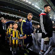 Fenerbahce's Caner Erkin during their Turkish superleague soccer derby Fenerbahce between Besiktas at the Sukru Saracaoglu stadium in Istanbul Turkey on Sunday 22 March 2015. Photo by Aykut AKICI/TURKPIX