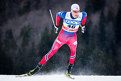 Bakkene Elvind (NOR) during Man 1.2 km Free Sprint Qualification race at FIS Cross<br /> Country World Cup Planica 2016, on January 16, 2016 at Planica,Slovenia. Photo by Ziga Zupan / Sportida
