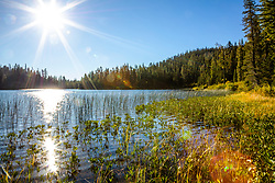 """""""Smith Lake 3"""" - Photograph shot in the morning at Smith Lake in California's Plumas National Forest."""