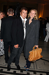 NICKY HASLAM and ALANNAH WESTON at the opening of a new exhibition 'Diane Arbus Revelations' a major retospective of the Legendary New York Photographer at the V&A museum on 11th October 2005.<br /><br />NON EXCLUSIVE - WORLD RIGHTS