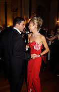 David Peacock and Lady Alexandra Spencer Churchill, Ball at Blenheim Palace in aid of the Red Cross, Woodstock, 26 June 2004. SUPPLIED FOR ONE-TIME USE ONLY-DO NOT ARCHIVE. © Copyright Photograph by Dafydd Jones 66 Stockwell Park Rd. London SW9 0DA Tel 020 7733 0108 www.dafjones.com