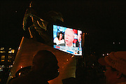 Atmosphere at the Pre-Election party held on the grounds of The Adam Clayton Powell State Office Building in Harlem on Election night, November 4, 2008..Democratic Presidential Candidate Barack Obama is declared victor and President-Elect as the 44th U.S. President making him the first African-American President in its 225 year history.