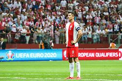 June 10, 2019 - Warsaw, Poland - Poland's forward Robert Lewandowski during the UEFA Euro 2020 qualifier Group G football match Poland against Israel on June 10, 2019 in Warsaw, Poland. (Credit Image: © Foto Olimpik/NurPhoto via ZUMA Press)