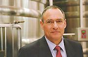 Dr Alain Richer de Forges, manager, of the proprietor family Marc Pages. Chateau la Tour de By, Medoc, Bordeaux, France