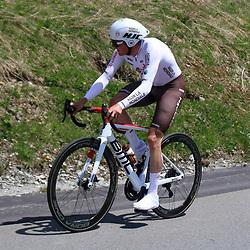 ANDERMATT (SUI) CYCLING<br /> Tour de Suisse stage 7<br /> Mathias Frank