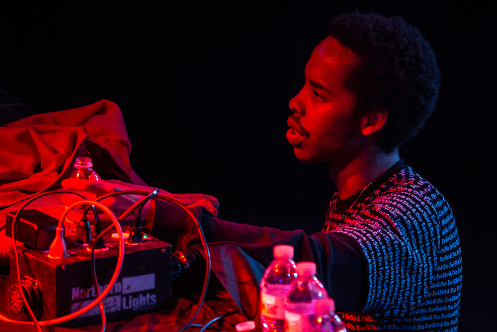 Earl Sweatshirt performing at The Rave in Milwaukee, WI on March 28, 2015.