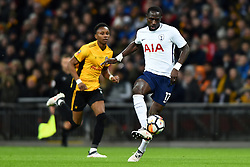 February 7, 2018 - London, United Kingdom - Tottenham Hotspur's Moussa Sissoko in action during the FA Cup Fourth Round replay match between Tottenham Hotspur and Newport County at Wembley stadium, London, England on 10 Feb  2018. (Credit Image: © Kieran Galvin/NurPhoto via ZUMA Press)