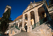 PORTUGAL, CENTRAL AREA, COIMBRA once capital and site of Portugal's oldest University; administration offices and famous belltower