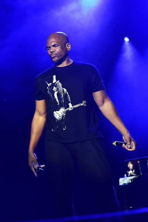 BETHLEHEM, PA - AUGUST 06:  Daryl McDaniels of RUN-DMC performs at Sands Steel Stage at PNC Plaza on August 5, 2016 in Bethlehem, Pennsylvania.  (Photo by Lisa Lake/Getty Images)