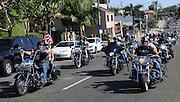 9-11 Motorcycle Parade On Pacific Coast Highway In Corona Del Mar