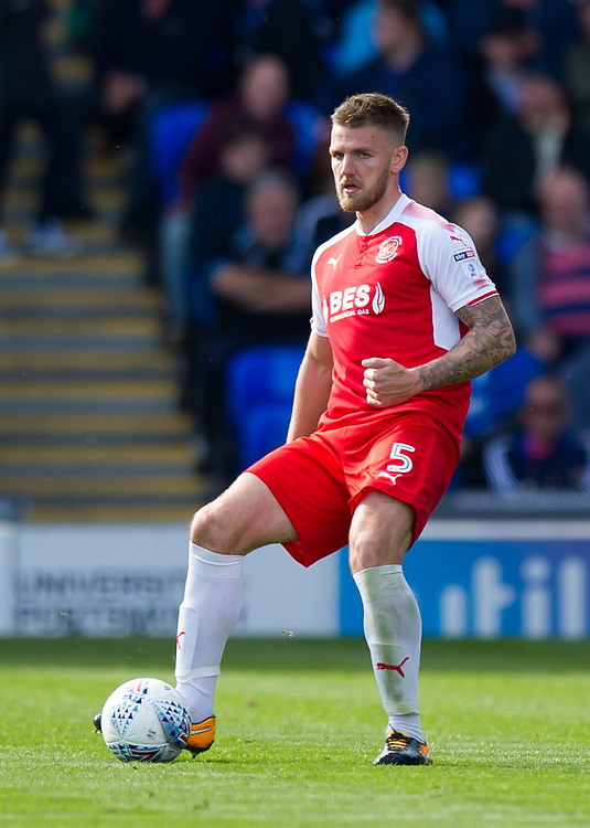 Fleetwood Town's Ashley Eastham<br /> <br /> Photographer Ashley Western/CameraSport<br /> <br /> The EFL Sky Bet League One - Portsmouth v Fleetwood Town - Saturday 16th September 2017 - Fratton Park - Portsmouth<br /> <br /> World Copyright © 2017 CameraSport. All rights reserved. 43 Linden Ave. Countesthorpe. Leicester. England. LE8 5PG - Tel: +44 (0) 116 277 4147 - admin@camerasport.com - www.camerasport.com