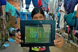 Elci D'Ávila cujo filho foram mortos em uma chacina no dia 20 de janeiro de 2008, na Vila das Laranjeiras, em Porto Alegre. FOTO: Lucas Uebel/Preview.com