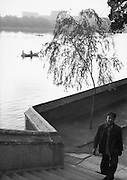 C011-34_Tom Hutchins_Boating in the late afternoon, Peihei Park, Peking, China 1956 A3.tif