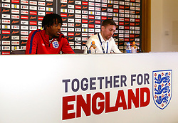 England's Nathaniel Chalobah speaks during a press conference - Mandatory by-line: Matt McNulty/JMP - 29/08/2017 - FOOTBALL - St George's Park National Football Centre - Burton-upon-Trent, England - England Training and Press Conference