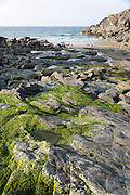 Secluded cove between Polzeath and Port Quin, Cornwall