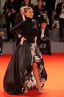 Paola Caruso at the premiere of the film Victoria & Abdul at the 74th Venice Film Festival, Sala Grande on Sunday 3 September 2017, Venice Lido, Italy.