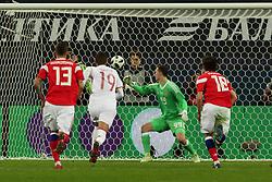 November 14, 2017 - St. Petersburg, Russia - November 14, 2017, Russia, St. Petersburg. Friendly match Russia v Spain. (Credit Image: © Russian Look via ZUMA Wire)