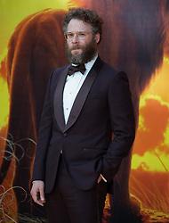 Seth Rogan attends the London premiere of The Lion King.<br /><br />15 July 2019.<br /><br />Please byline: Vantagenews.com