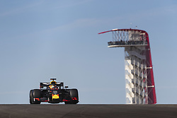 November 1, 2019, Austin, United States of America: Motorsports: FIA Formula One World Championship 2019, Grand Prix of United States, ..#33 Max Verstappen (NLD, Aston Martin Red Bull Racing) (Credit Image: © Hoch Zwei via ZUMA Wire)