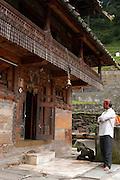 India, Nagar, Kullu District, Himachal Pradesh, Northern India, A Hindu temple