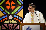 The Rev. Christopher Esget, LCMS sixth vice-president and pastor of Immanuel Evangelical-Lutheran Church, Alexandria, Va., preaches during worship on Friday, Jan. 27, 2017, in Arlington, Va. LCMS Communications/Erik M. Lunsford