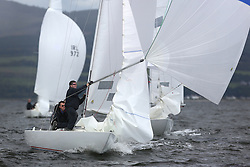 Peelport Clydeport, Largs Regatta Week 2014 Largs Sailing Club based at  Largs Yacht Haven with support from the Scottish Sailing Institute & Cumbrae.<br /> <br /> Etchell, 929, Bullet 7, Peter Dixon