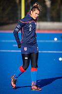 BILTHOVEN -  Hoofdklasse competitiewedstrijd dames, SCHC v hdm, seizoen 2020-2021.<br /> Foto: Suzanne Homma (SCHC)