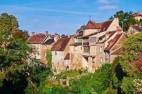 France, Indre (36), le Berry, vallée de la Creuse, Gargilesse-Dampierre, labellisé Les Plus Beaux Villages de France // France, Indre (36), Creuse valley, Gargilesse-Dampierre, The most beautiful villages of France