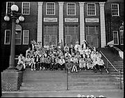 "ackroyd-08537-6. ""Portland Union Stockyards. 4-H Club Tour. September 5, 1958"""