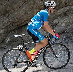 12.07.2015, Bregenz, AUT, Österreich Radrundfahrt, 8. Etappe, von Innsbruck nach Bregenz, im Bild Gregor Mühlberger (AUT, Team Felbermayr Simplon) // Gregor Mühlberger of Austria during the Tour of Austria, 8th Stage, from Innsbruck to Bregenz, Bregenz, Austria on 2015/07/12. EXPA Pictures © 2015, PhotoCredit: EXPA/ Reinhard Eisenbauer