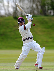 Somerset's James Regan - Photo mandatory by-line: Harry Trump/JMP - Mobile: 07966 386802 - 24/03/15 - SPORT - CRICKET - Pre Season Fixture - Day 2 - Somerset v Glamorgan - Taunton Vale Cricket Club, Somerset, England.