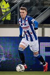 Martin Odegaard of sc Heerenveen during the Dutch Eredivisie match between sc Heerenveen and Willem II Rotterdam at Abe Lenstra Stadium on March 03, 2018 in Heerenveen, The Netherlands