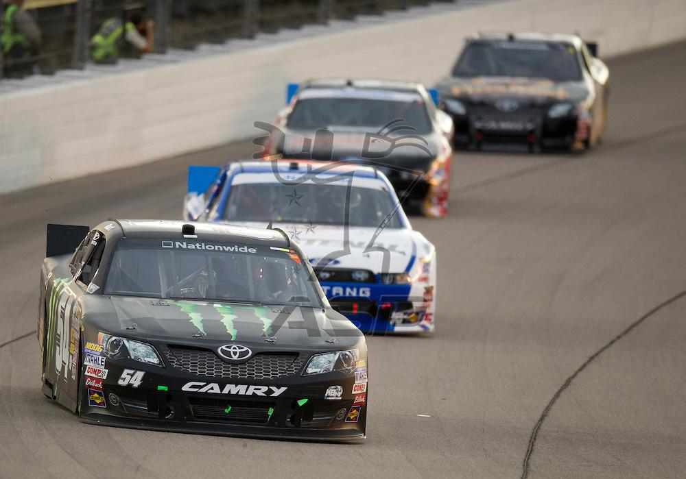 NEWTON, IA - July 04, 2012: Kurt Busch (54) during the U.S. Cellular 250 race at Iowa Speedway in Newton, IA.