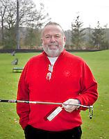 TETERINGEN - Golf- Intructie met golfprofessional CEES RENDERS, putten.  FOTO KOEN SUYK