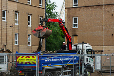 Construction firms  take softly softly approach to returning to work, Midlothian, 15 June 2020