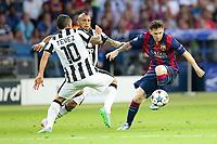 Carlos Tevez, Lionel Messi <br /> Berlino 06-06-2015 OlympiaStadion  <br /> Juventus Barcelona - Juventus Barcellona <br /> Finale Final Champions League 2014/2015 <br /> Foto Schuler/Eibner-Pressefoto/Expa/Insidefoto