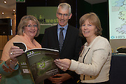 20/11/2014  repro free    <br /> Vincent Campbell Director National Procurement Service, John Maughan, Procurement Officer Mayo County Council and   Dr. Emer Mulligan, Head of J.E Cairnes School of Business & Economics, NUI Galway at the Galway Bay Hotel for the two conference Meet West attracting over 400 business people from around Ireland for the largest networking event in the Country . Photo:Andrew Downes