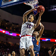 Mar 11 2019  Las Vegas, NV, U.S.A. Gonzaga forward Brandon Clarke (15) drives to the basket during the NCAA  West Coast Conference Men's Basketball Tournament semi -final between the Pepperdine Wave and the Gonzaga Bulldogs 100-74 win at Orleans Arena Las Vegas, NV.  Thurman James / CSM