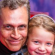 NLD/Amsterdam/20130921 - Premiere Planes, Robert Schoemacher en dochter Olivia