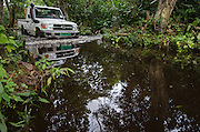 African Parks Vehicles<br /> Mbomo<br /> Odzala - Kokoua National Park<br /> Republic of Congo (Congo - Brazzaville)<br /> AFRICA
