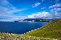 Mongolie, Province de Arkhangai, Parc National de Khorgo, volcan Khorgo, lac Terkhiin Tsagaan Nuur // Mongolia, Arkhangai province, Khorgo National Parc, Khorgo vulcano, Terkhiin Tsagaan Nuur lake